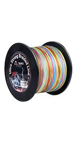 RUNCL Rainbow Braided Line X8