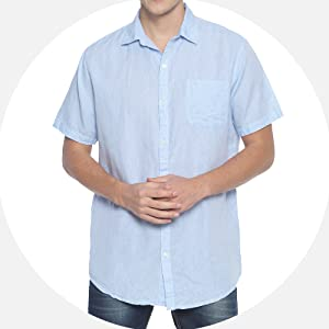 cotton and linen shirts