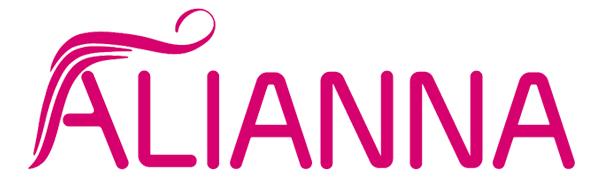 ALIANNA 100% Brazilian Real Hair Bundles with 4×4 Closure Raw Virgin Human Hair Extensions Women
