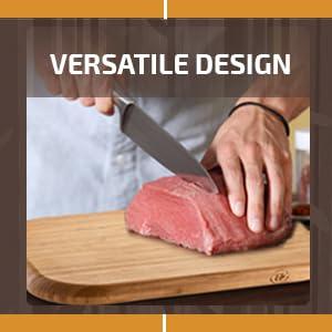 versatile design cutting board