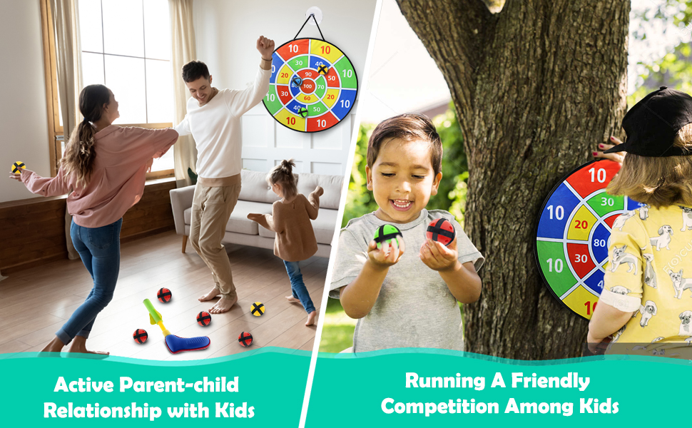 Active parent-child relationship with kids
