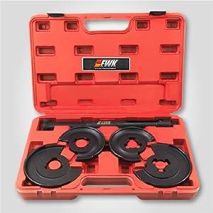 struts spring compressor hydraulic mercedes w210 accessories telescopic shaft - EWKtool - EB0017-10