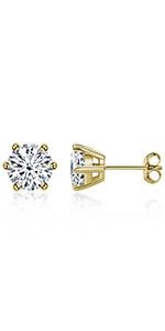 6-prong earrings