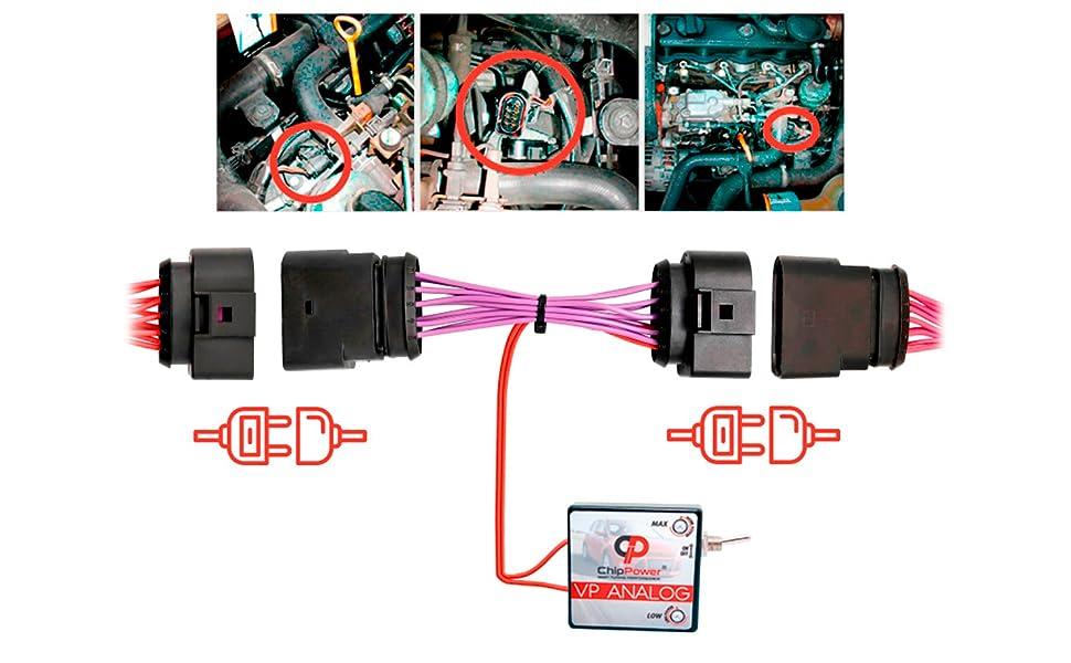 Chippower Chiptuning Vpd Für T4 Multivan 2 5 Tdi 1995 2003 Leistung Chip Tuning Box Mehr Leistung Performance Diesel Auto