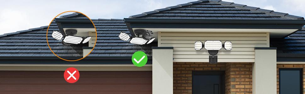 flood light outdoor, flood light motion sensor, exterior led motion lights, outside security lights