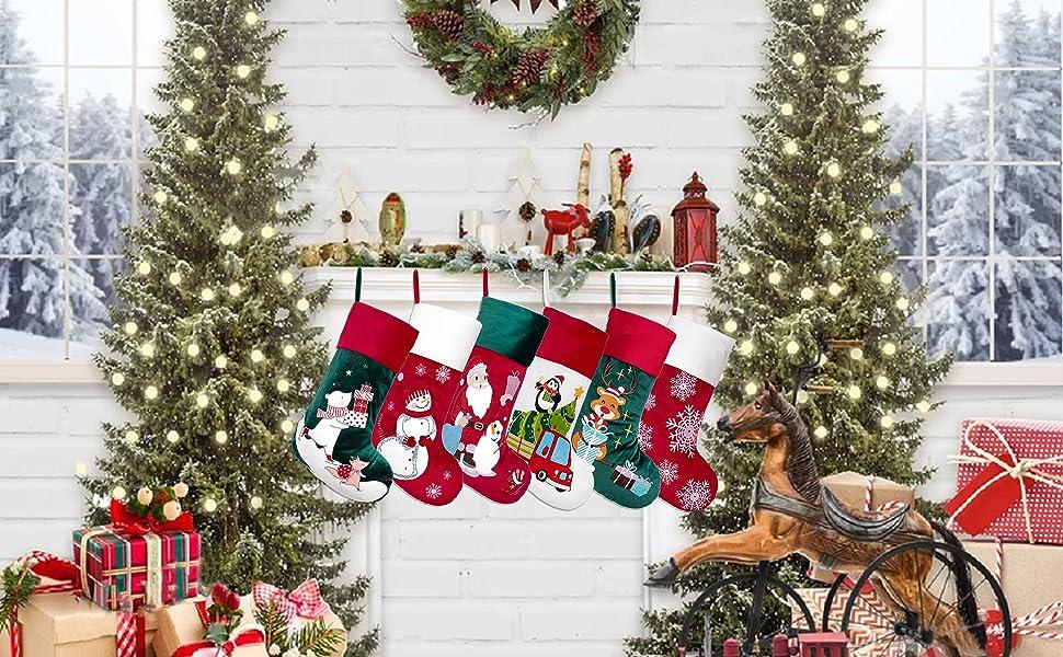 christmas stocking velvet 10
