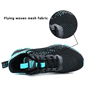 Flying woven mesh fabric