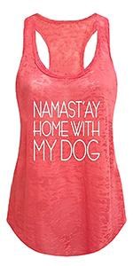 Tough Cookie Clothing yoga wear yoga clothing tank top fitness gym run workout fun print t-shirts