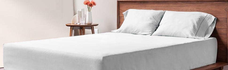 viscosoft, literie, linge de lit, drap, drap-housse, drap de lit, parure de lit, drap gris
