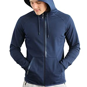 scr sportswear hoodie for man black navy tall men track suit running jogger set