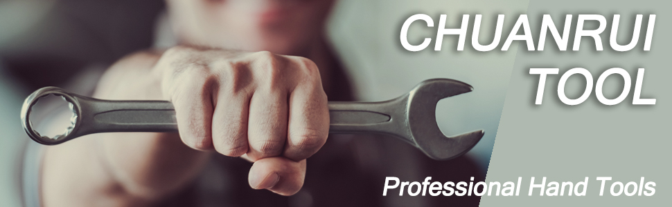 CHUANRUI Flex-Head Ratcheting Combination Wrench