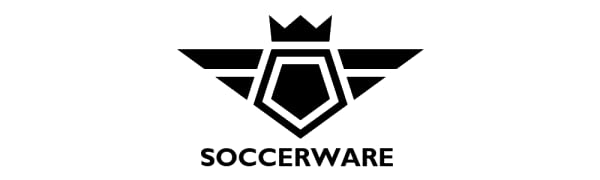 Soccerware Soccer Bag - XL Capacity - Holds ball, cleats, clothes, and all + EXTRA accessory pockets