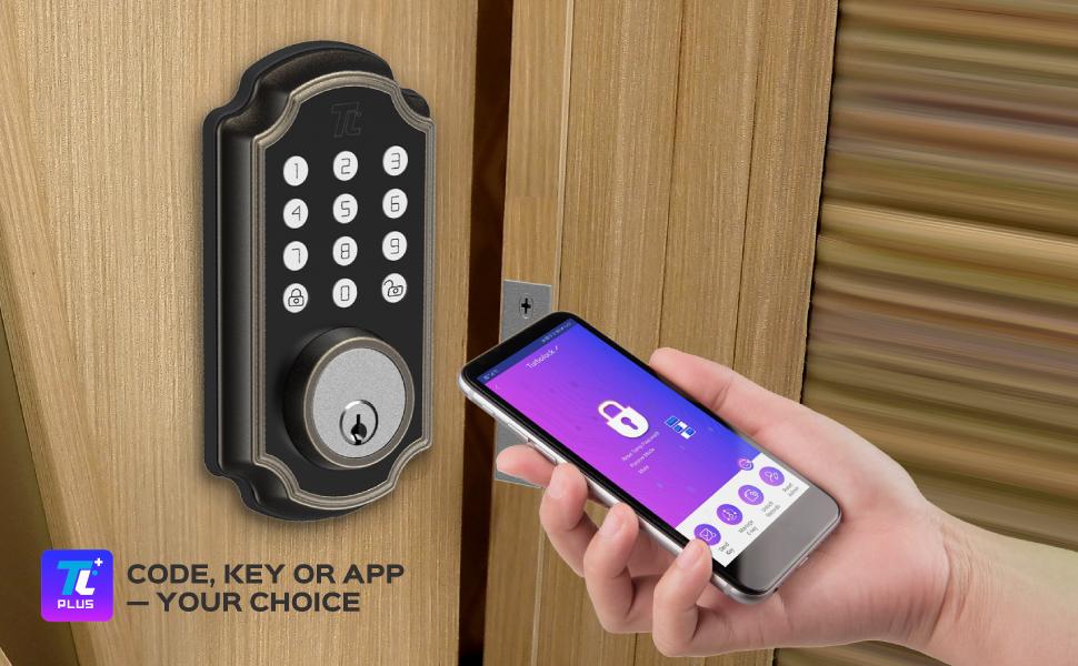 smart bluetooth keyless lock with app