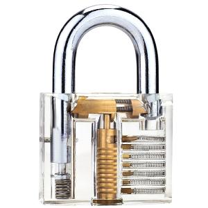 transparent lock