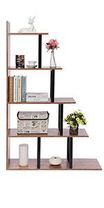 ladder shelf leaning bookshelf storage shelf