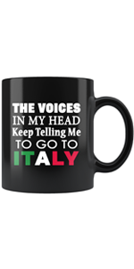 Drinkware of All Types - Wine Tumblers, Mugs, Steins, Large Tumblers with Italian Pride
