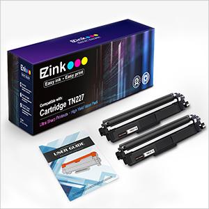 TN227 tn227bk high yield black toner cartridge tn-227bk/c/m/y high yield brother hl-l3290cdw toner