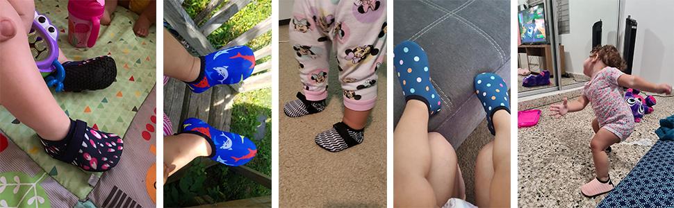 Baby walking shoes buyer show