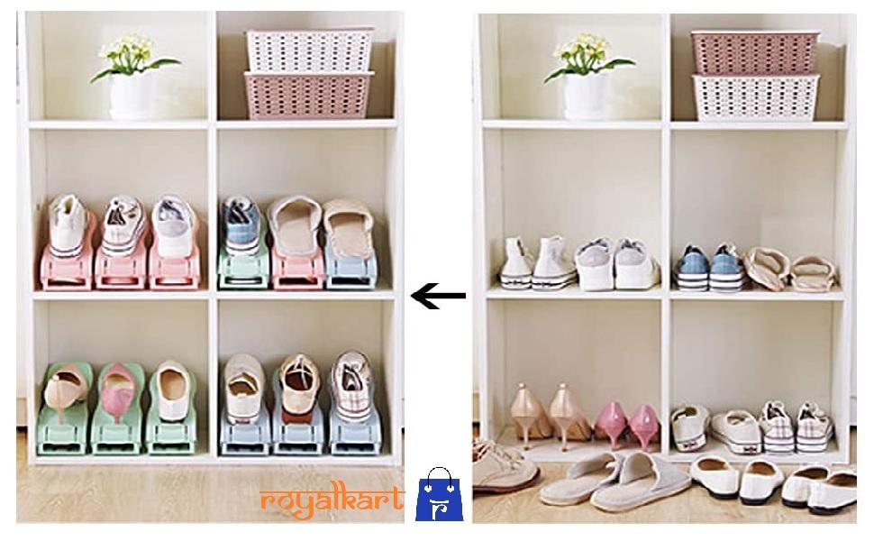 shoe organiser space saver