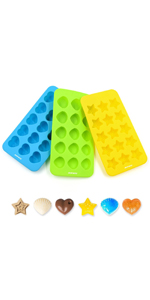 BPA free and FDA approved silicone baking molds