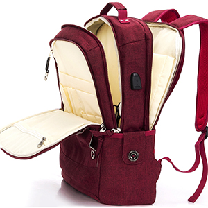 laptop backpack men women 17 17.3 15.6 inch travel backpacks computer compartment work college