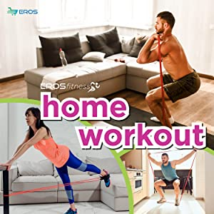 physio band home workout table leg stretch abs sit up yoga mat gym lockdown garden grass exercise