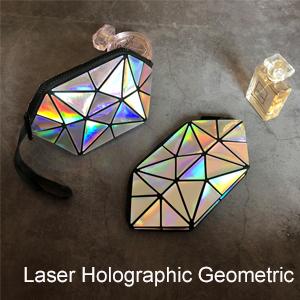 Laser Holographic Geometric Series
