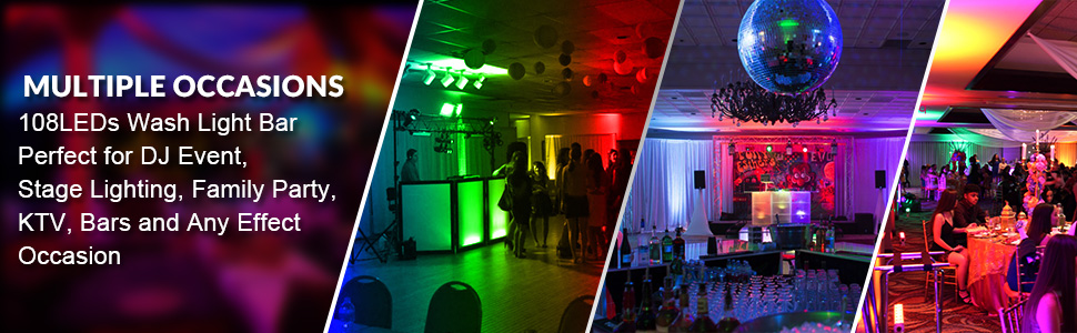party wedding dj stage lighting