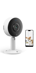 Flashandfocus.com dbc8f2d1-286b-4dd2-a3b2-8931228a5da9.__CR0,0,150,300_PT0_SX150_V1___ Indoor Home Security Camera with 32GB SD Card-Arenti IN1 1080P Full HD, 2.4G WiFi, Night Vision, Two Way Audio, Motion…