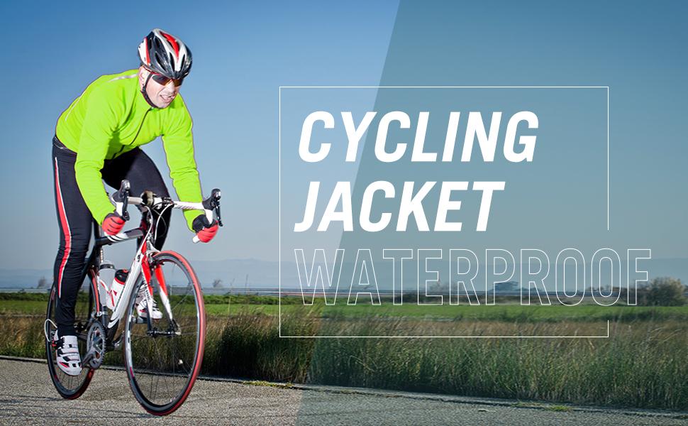 Men's Cycling Jacket Waterproof