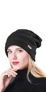 Winter Hats for Women Fleece Lined