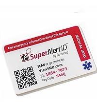 SuperAlert MedID Emergency Card