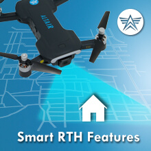 RTH drone, return home functions