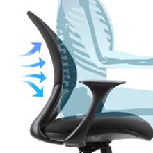 Ergonomic design backrest