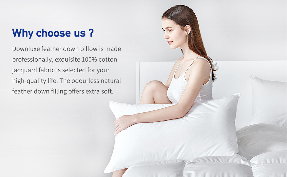 why choose our feather down pillow