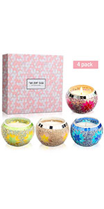 candles gifts set