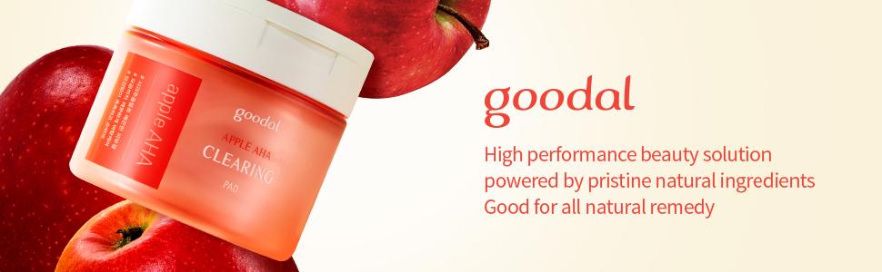 Goodal Apple AHA Clearing Toner Pads