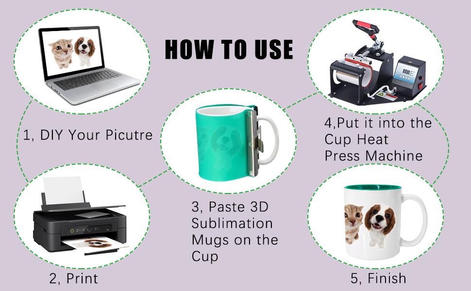 Sublimation Silicone Mug
