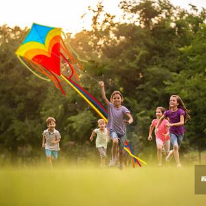 best kite for kids,high quality kites diamond flying kite rainbow kites for girls boys