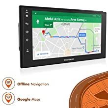 android car stereo with bluetooth