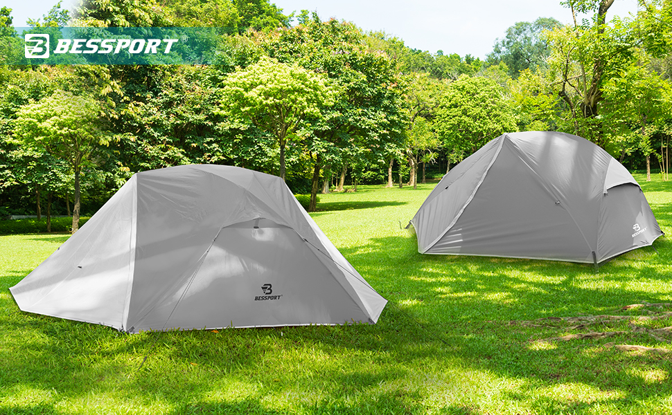 Bessport Camping Tent 3 Person Tent