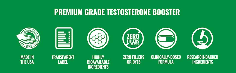 Premium Grade Testosterone Booster