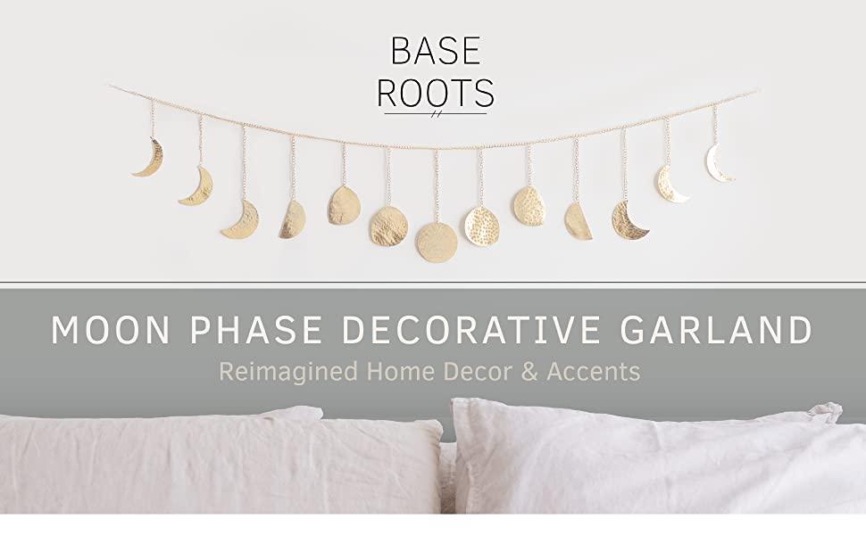 Moon Phase Decorative Garland