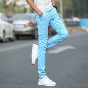 chinos pants men slim fit