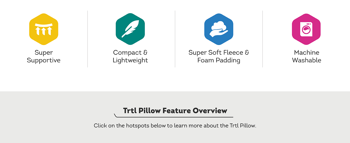 trtl pillow features-icons