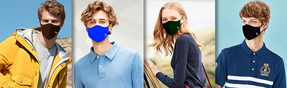 Giordano cotton mask colours