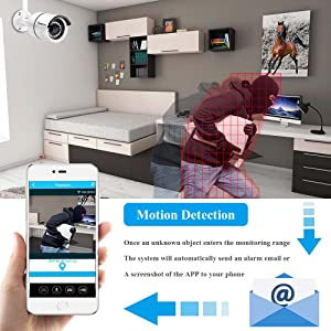 Motion Detection and Email Alert