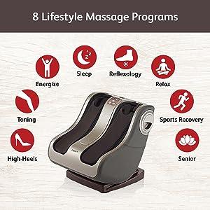 foot massager, reflexology, feet massage, calf massage, calf massager, feet massage machine