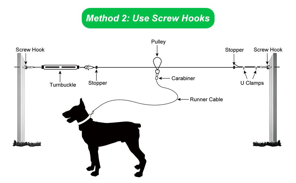 dog outdoor cable dog outdoor leash cable dog outdoor leash cable  dog outdoor tie out dog outdoor