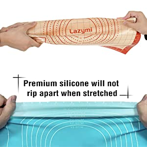 Fondant en silicone mat dos en silicone mat